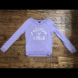 Purple Swearshirt